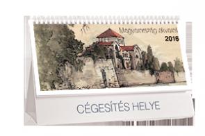 AN-AM Magyarország akvarell asztali naptár