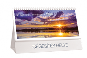 AN-ST Színpompás természet asztali naptár